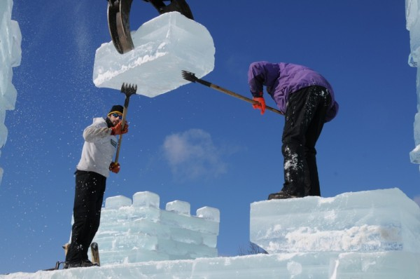 Saranac Lake Ice Palace