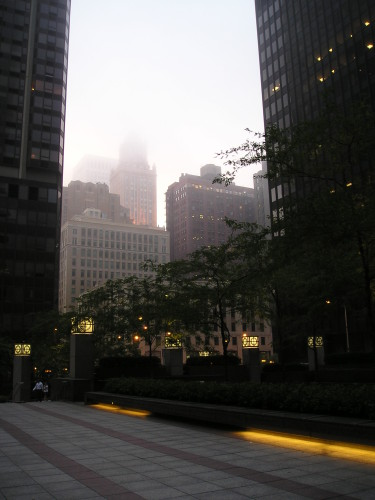 Travel Photo: Chicago Fog