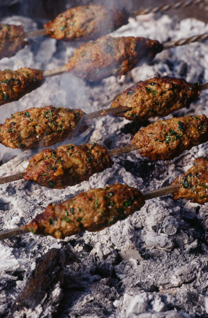 Moroccan grilled meat balls