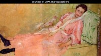 Bell Epoque painting by Cassatt