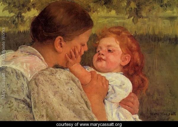 Belle Epoque painting of Cassatt