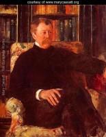 Bell Epoque portrait- Cassatt's Father