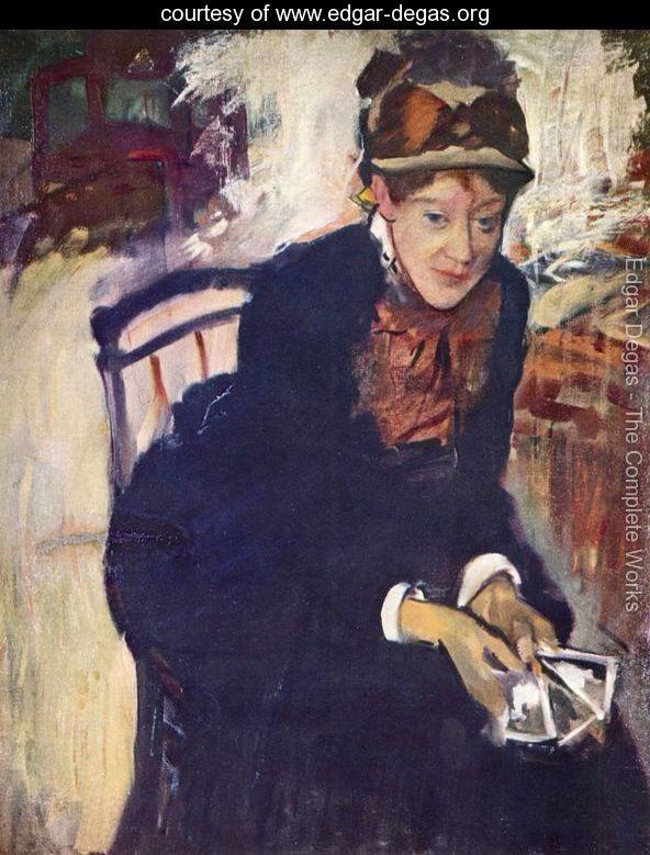 Bell Epoque portait of Mary Cassatt