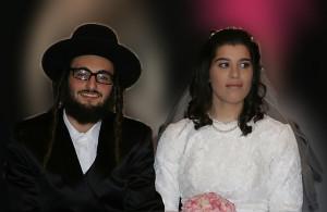Hasidic wedding