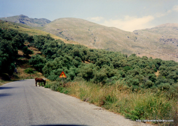 Mountain Road, Crete