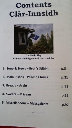 Gaelic Cook Book