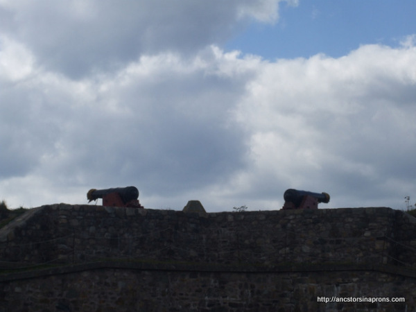 Cannons at Fortress Louisbourg
