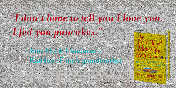 Quote from food memoir