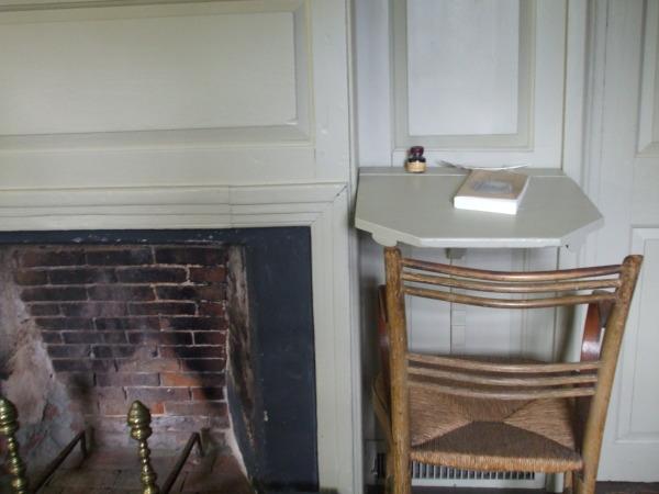 Nathaniel Hawthorne's desk