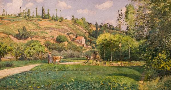 Pissaro painting