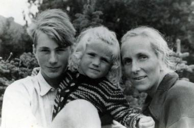 Sigrid MacRae as child